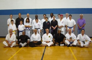 Durham Martial Arts Symposium participants!