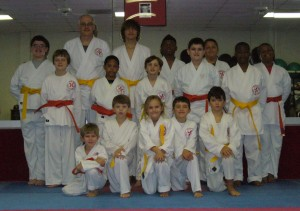 Yellow and Orange belt test - 11/16/13!
