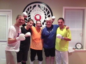 Last sparring workout before nationals, 6/27, I thank were ready!