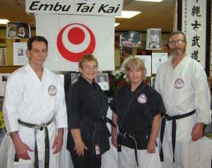 Kevin Gurganus, Rita Parke,Hanshi Dometrich, Bill Harmon!
